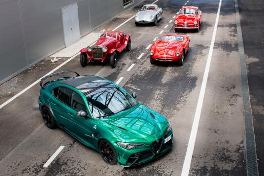 Line Up da Alfa Romeo para a 1000 Miglia de 2021
