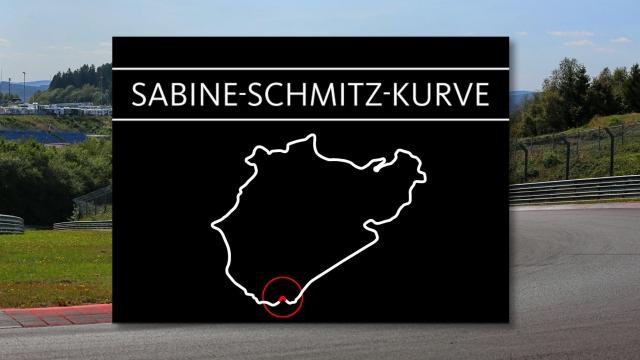Curva Sabine Schmitz