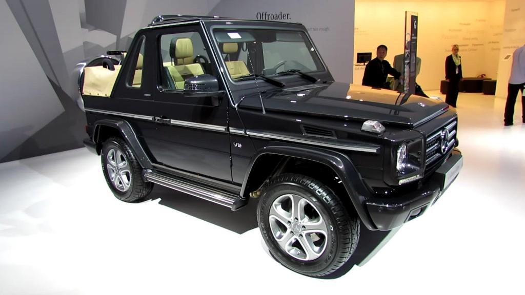 Novo Mercedes-Benz Classe G na calha