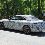 Protótipo camuflado do novo Mercedes-Benz Classe C Cabriolet