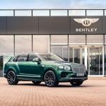Novas jantes em fibra de carbono do Bentley Bentayga