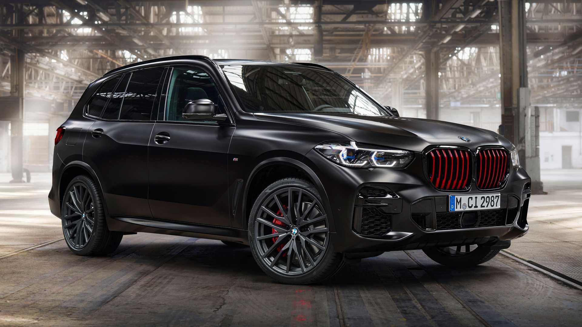 BMW X5 Black Vermillion Edition