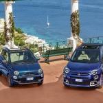 Fiat 500 e 500X Yachting