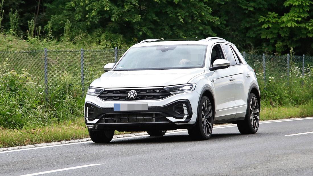 VW T-Roc facelift