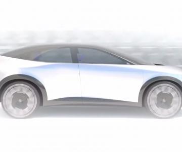 Primeiras imagens do substituto do Nissan Leaf
