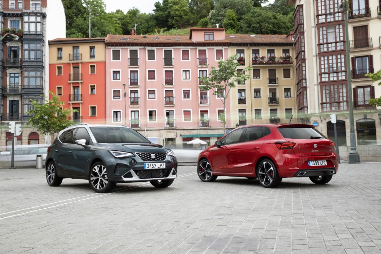 Seat Arona e Ibiza facelift