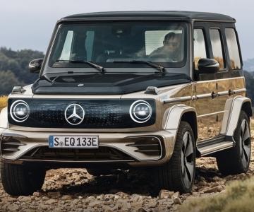 Render do Mercedes-Benz EQG