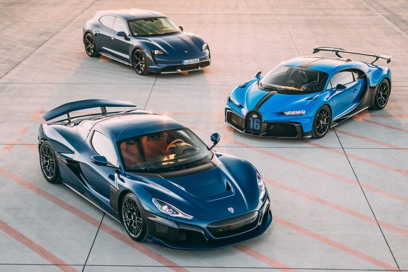 Bugatti comprada pela Rimac
