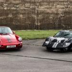 Porsche 911 964 e Ford GT40 elétricos