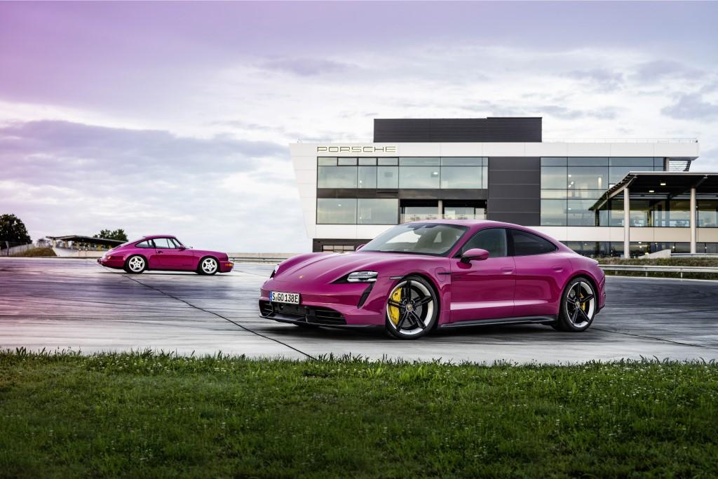 Porsche Taycan MY 2021