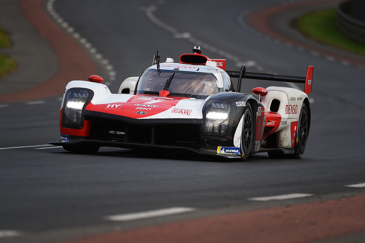 #7 da Toyota foi o vencedor deste ano em Le Mans