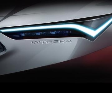 Teaser Acura Integra