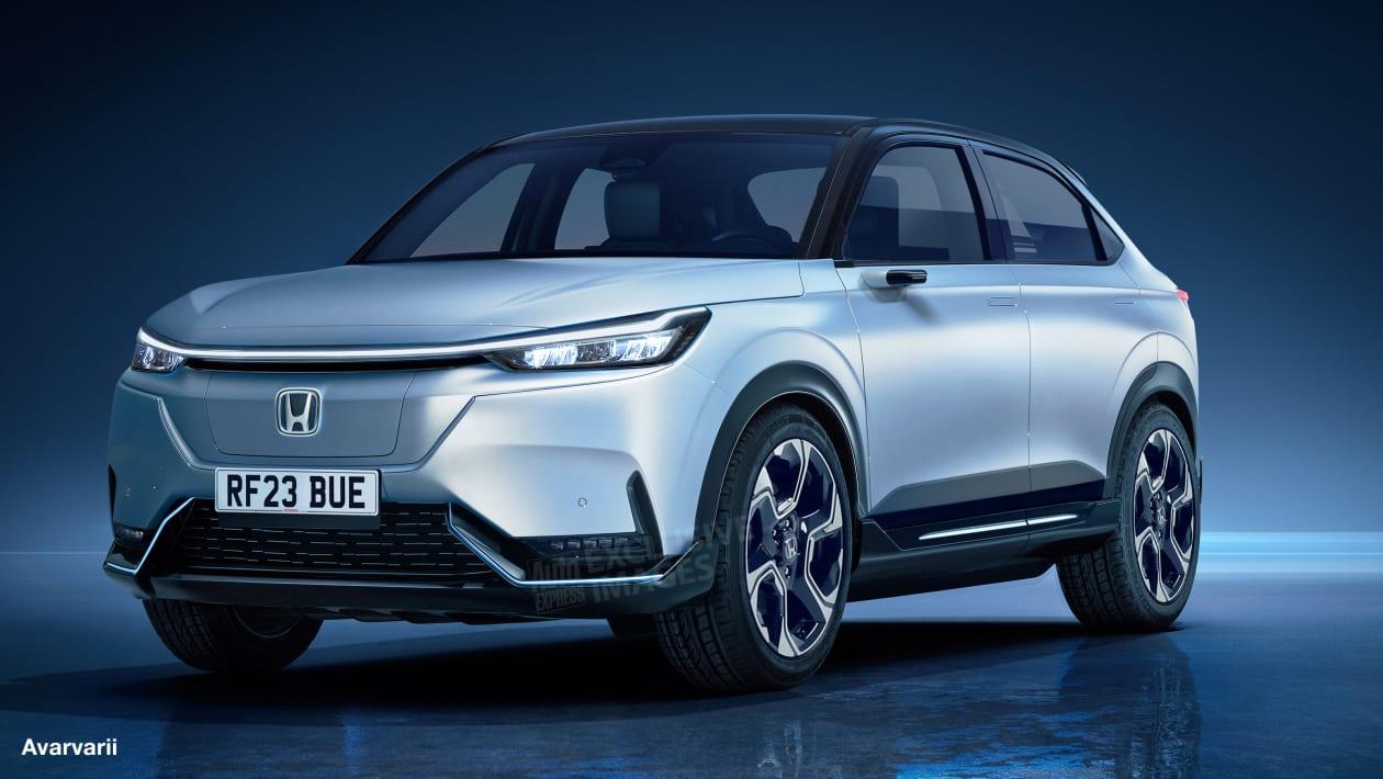 Honda E-SUV render
