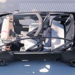 Renault Clio 6 BEV render