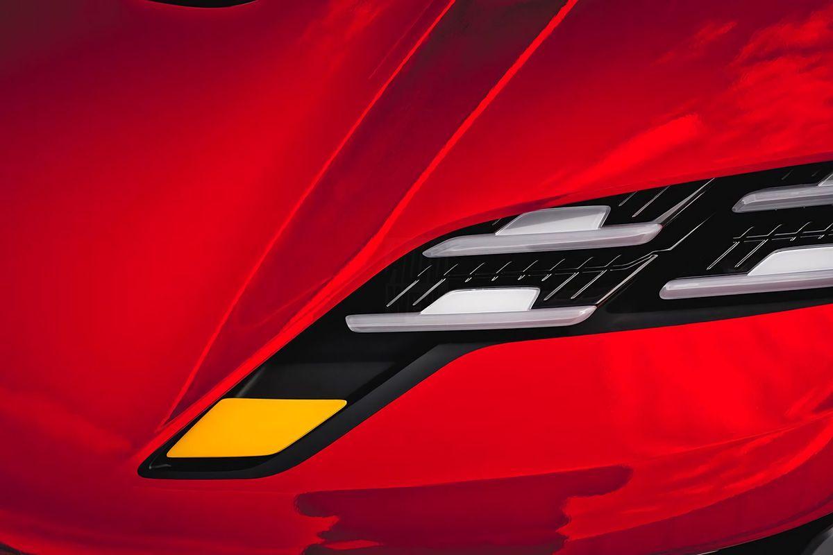 Teaser do novo Porsche