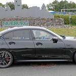BMW M340i Sedan facelift foto espia