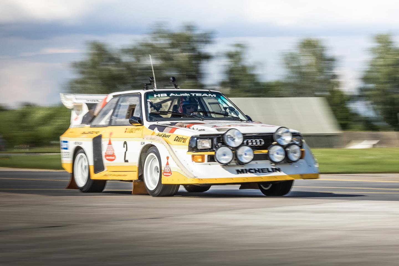 Ken Block conduziu o Audi Sport quattro