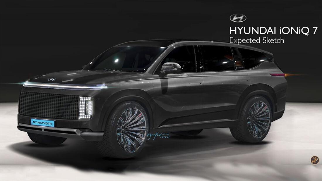 Render do Hyundai Ioniq 7
