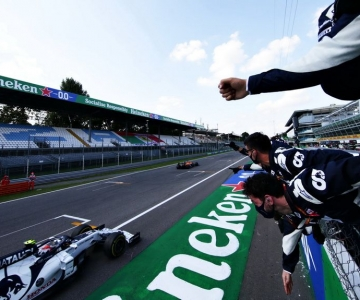 Foi em Monza que Pierry Gasly obteve a sua única vitória na F1
