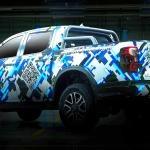 Teaser da nova Ford Ranger