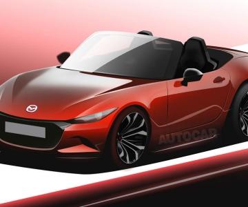 Render do próximo Mazda MX-5