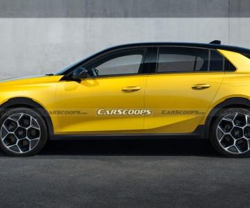 Render do Opel Astra Cross