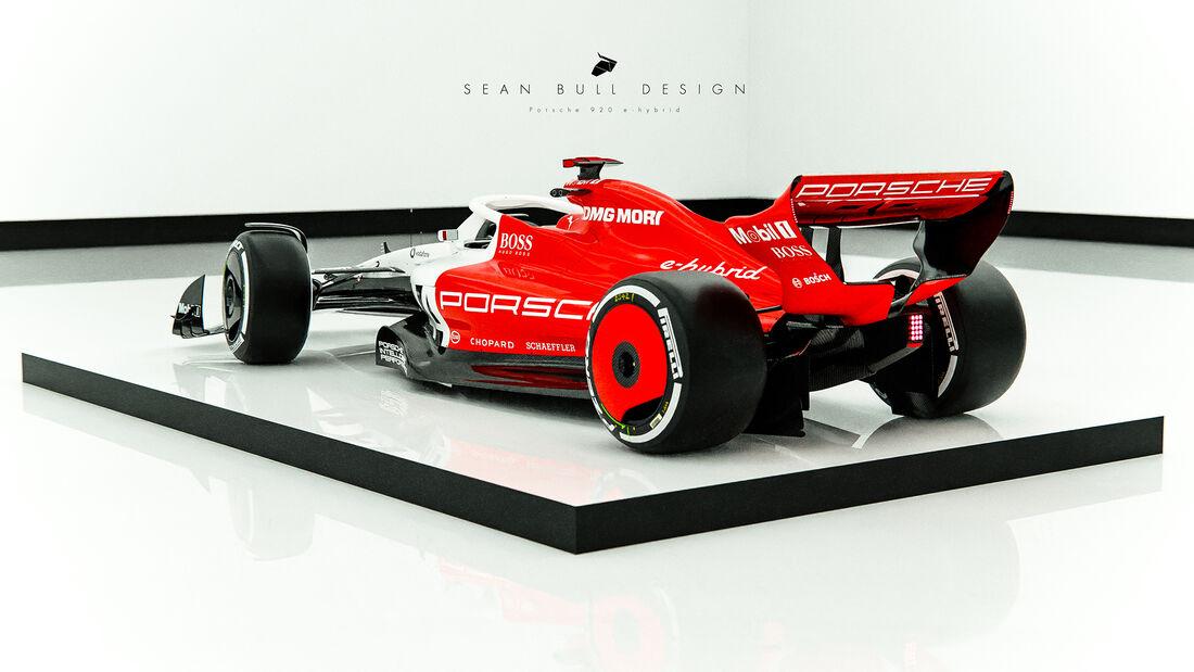 Porsche Design Concept F1 por Sean Bull Design