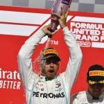 Hamilton é o recordista de vitórias nos EUA